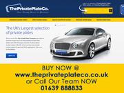 The Private Plate Company - Cheap Private plates