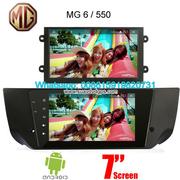 MG 6 MG6 MG550 Car radio GPS android