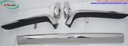 Rolls Royce Silver Shadow bumper (1965-1977) in stainless steel